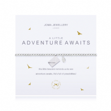 Joma Jewellery A Little ADVENTURE AWAITS Silver Plated Beaded Bracelet